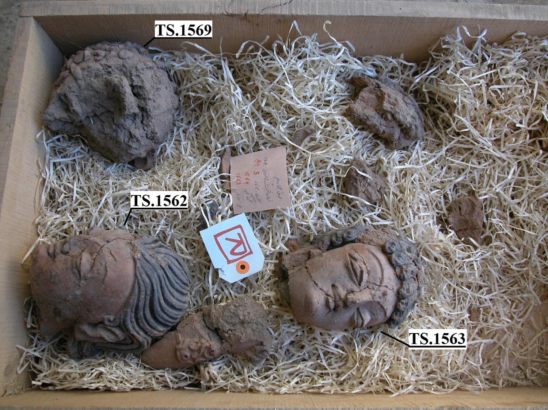 1562 et alia teste di Buddha_NUM